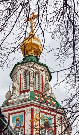 attributed: Church of St. John the Warrior on Yakimanka Street erected in 1704-1717. It is attributed to architect Ivan Zarudny.