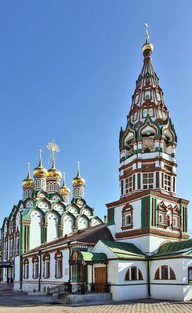 weavers: Church of Saint Nicholas in Khamovniki is a late 17th century parish church of a former weavers sloboda in Khamovniki District of Moscow.