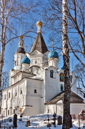 boyar: Church of the Dormition of the Theotokos in Veshnyaki has been constructed by boyar Feodor Sheremetev in the middle of a XVII-th century