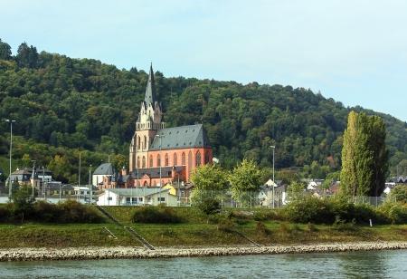 Oberwesel ist eine historische Stadt am Mittelrhein