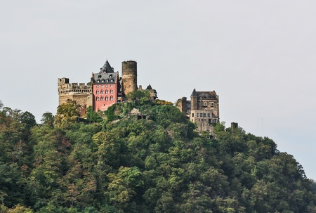 burg: The Schonburg is a castle above the medieval town of Oberwesel