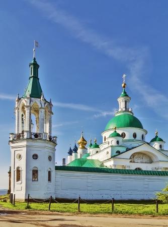 veliky: Dimitrievsky Cathedral  in Spaso-Yakovlevsky Monastery in Rostov, Russia