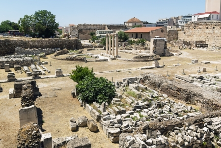 The Ancient Agora of Classical Athens is the best-known example of an ancient Greek agora