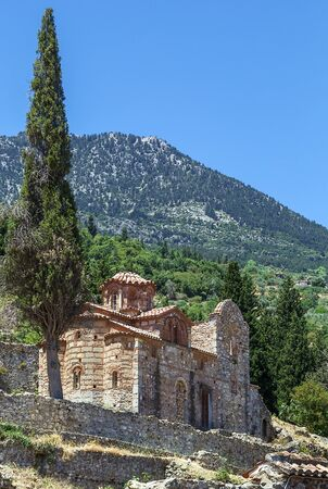 laconia: Churches of Evangelistria in Mystras in Greece