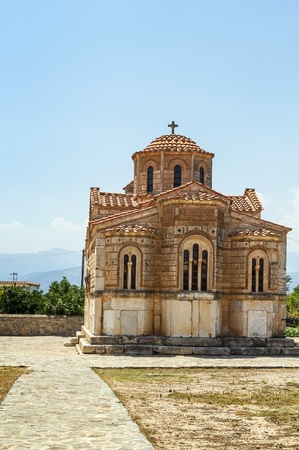 nafplio: Church of The Koimesis is old Byzantine church near Nafplio city, Greece