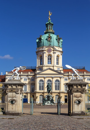 surviving: Charlottenburg Palace is the largest palace in Berlin and the only surviving royal residence in the city Editorial