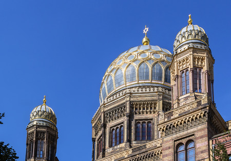 jewish community: New Synagogue was built 1866 as the main synagogue of the Berlin Jewish community