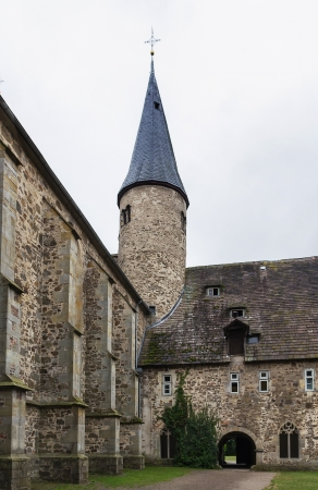 remained: Abbey Mollenbeck is constructed on a place of earlier structure and is one of the most remained monuments of the late Middle Ages in Germany