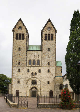 consecrated:  The original Benedictine Monastery Church, St. Peter and Paul, had been built by Bishop Meinwerk and was consecrated in 1023