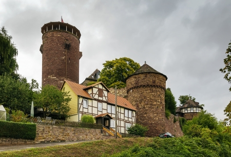 One of Germanys best-preserved castles is Trendelburg Castle in the Wester Mountains near Kassel. Chartered in 1301