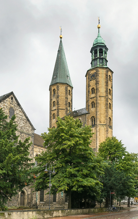 mentioned: The Goslar Market Church, first mentioned in 1151, was built as a smaller copy of the Imperial Church, which no longer exists,