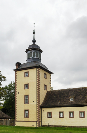 privileged: Imperial Abbey of Corvey was one of the most privileged Carolingian monastic sanctuaries in the ninth century Duchy of Saxony
