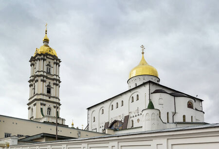 ideological: Trinity Cathedral. Holy Dormition Pochayiv Lavra has for centuries been the foremost spiritual and ideological centre of various Orthodox denominations in Western Ukraine