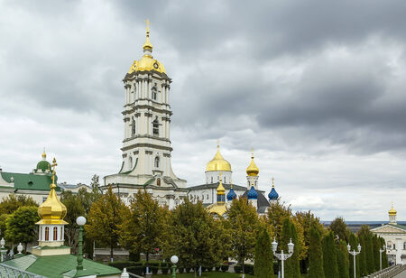 foremost: Holy Dormition Pochayiv Lavra has for centuries been the foremost spiritual and ideological centre of various Orthodox denominations in Western Ukraine