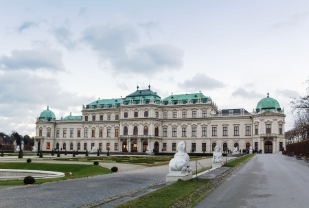 Upper Belvedere Palace was built in 1723, and is one of the most beautiful baroque palaces in Europe