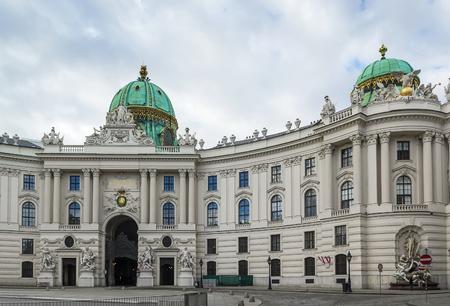 hofburg: St. Michaels Wing of Hofburg Palace, Vienna Editorial