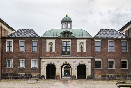 Charlottenborg Palace is a large town mansion located in Copenhagen, Denmark. Stok Fotoğraf