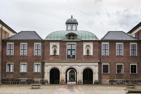 Charlottenborg Palace is a large town mansion located in Copenhagen, Denmark. Standard-Bild