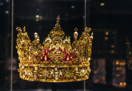Crown of King Christian IV On display at Museum