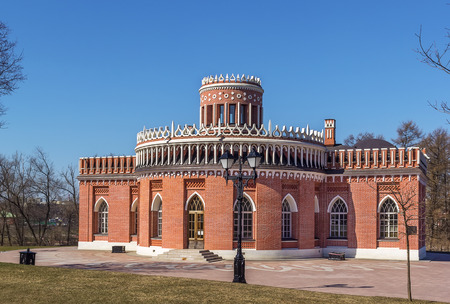 the tsaritsyno: Third Kavalersky Case in Tsaritsyno Park, Moscow