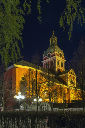 Saint Jamess Church is a church in central Stockholm, Sweden, dedicated to apostle Saint James the Greater, patron saint of travellers.