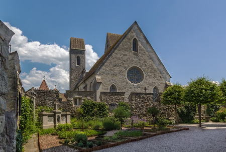 12th century: St. Johns Church in Rapperswil is mixed style church dating back to the 12th century, Switzerland