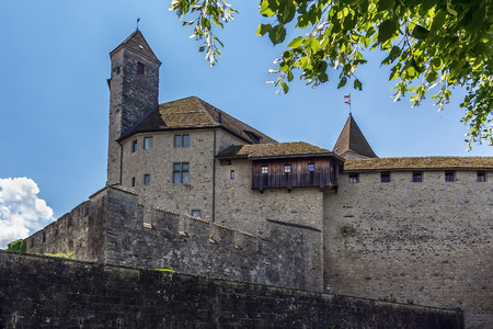 mentioned: Rapperswil Castle dates back around 1220 and is first mentioned in 1229, Switzerland