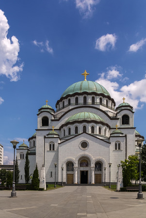 The Church of Saint Sava in Belgrade is the largest Orthodox church in the world, Serbia photo