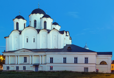st  nicholas cathedral: St Nicholas Cathedral is the oldest cathedral in Russia among those devoted to St. Nicholas, Veliky Novgorod, Russia