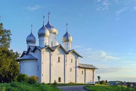 build in: The Church of Boris and Gleb in Plotnickom was build in 1536 in Veliky Novgorod, Russia