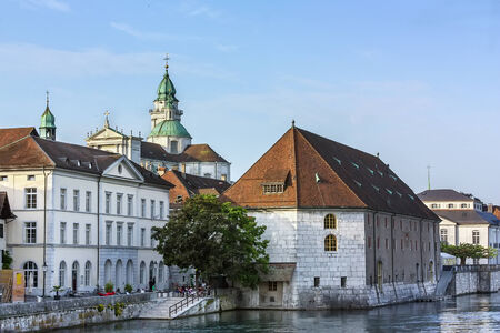 eponymous: Renowned as Switzerland most beautiful Baroque city, Solothurn is the capital of the eponymous canton,Switzerland