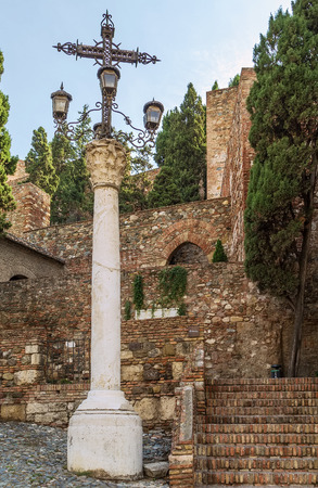 palatial: The Alcazaba is a palatial fortification in Malaga, Spain. It was built by the Hammudid dynasty in the early 11th century