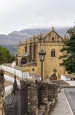 Holy Spirit Church in Ronda was built in 1505, Spain photo
