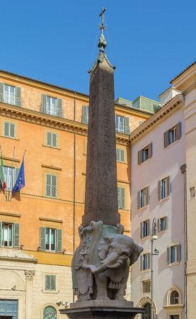 bernini: Elephant and Obelisk is a sculpture designed by the Italian artist Gian Lorenzo Bernini, Rome
