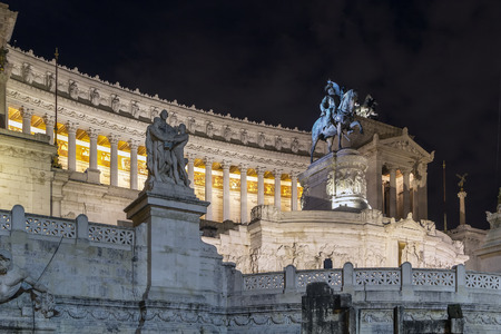 emmanuel: The Altare della Patria also known as National Monument to Victor Emmanuel II is a monument built in honour of Victor Emmanuel, the first king of a unified Italy. Evening