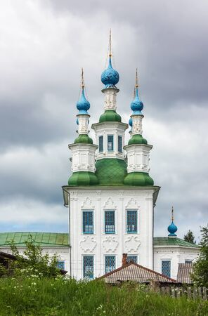 place of interest: The Trinity Church. The church was built in the style Totma Baroque, Totma, Russia