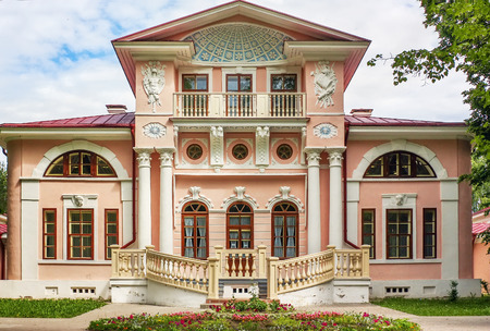 classicism: The manor Brjanchaninovyh is near to the city of Vologda and is constructed in style of early classicism, Russia Editorial