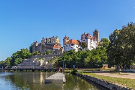 renaissance: view of Renaissance castle in Bernburg, Germany