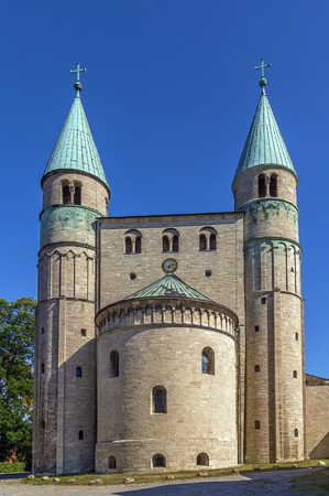 St. Cyriakus is a medieval church in Gernrode, Saxony-Anhalt, Germany. It is one of the few surviving examples of Ottonian architecture, built in 969