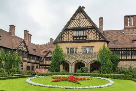 ruled: Cecilienhof is a palace in Potsdam, Brandenburg, Germany. Cecilienhof was the last palace built by the Hohenzollern family that ruled Prussia and Germany until 1918.