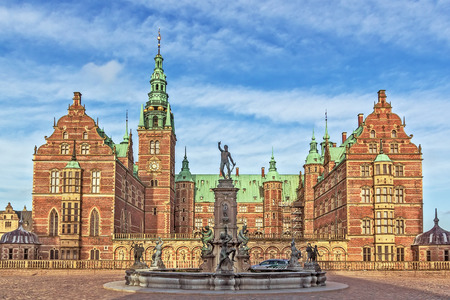 Frederiksborg Palace is a palace in Hillerod, Denmark. It was built as a royal residence for King Christian IV and is now a museum of national history.