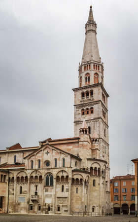 consecrated: Ghirlandina and Modena Cathedral is a Roman Catholic Romanesque church in Modena, Italy. Consecrated in 1184, it is an important Romanesque building in Europe and a World Heritage Site.