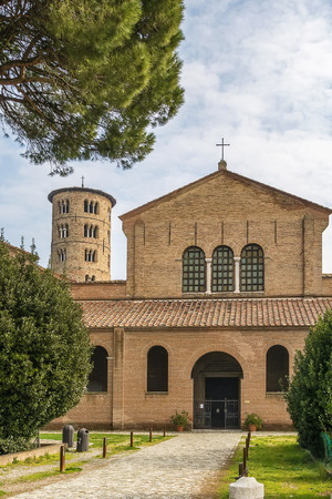 ravenna: The Basilica of Sant Apollinare in Classe is an important monument of Byzantine art near Ravenna, Italy.