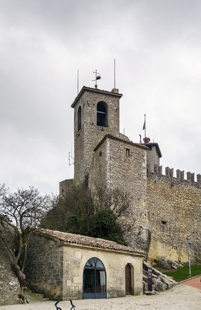 11th century: The Guaita fortress is the oldest of the three towers constructed on Monte Titano, and the most famous. It was built in the 11th century Editorial