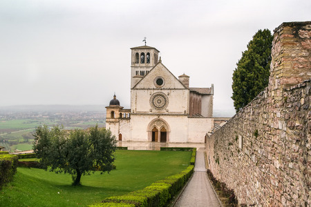 assisi: The Papal Basilica of St. Francis of Assisi is the mother church of the Roman Catholic Franciscan Order in Assisi, Italy.