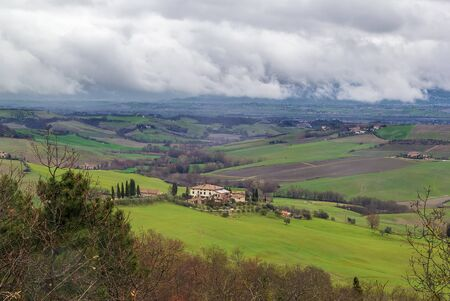 montepulciano: View of the neighborhood near Montepulciano, Italy