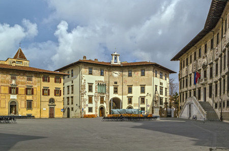 The Knights' Square (Italian: Piazza dei Cavalieri) is a landmark in Pisa, Italy, and the second main square of the city. This square was the political centre in medieval Pisa.
