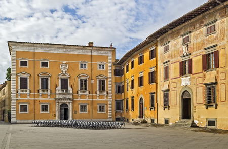 The Knights' Square (Italian: Piazza dei Cavalieri) is a landmark in Pisa, Italy, and the second main square of the city. This square was the political centre in medieval Pisa. Editöryel