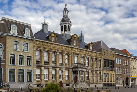 The Town Hall, situated on the market in Roermond, has a long history,Netherlands