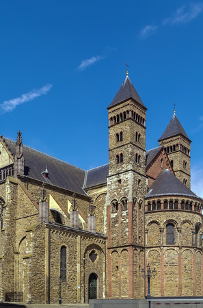 roman catholic: The Basilica of Saint Servatius is a Roman Catholic church dedicated to Saint Servatius, in the city of Maastricht, Netherlands.